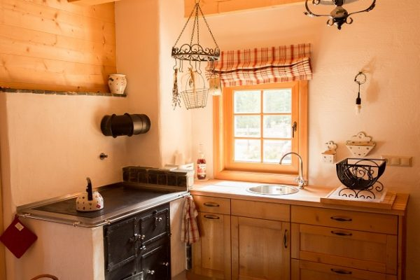 Sieglhütte Innenausstattung Küche